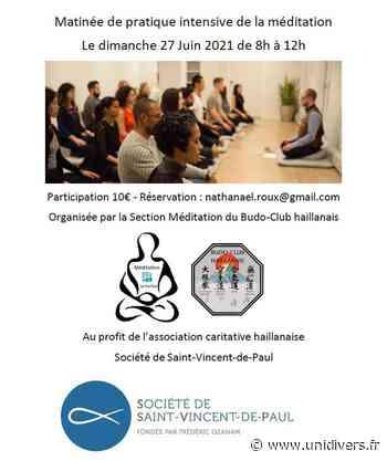 Stage de méditation, à but caritatif Le Haillan dimanche 27 juin 2021 - Unidivers