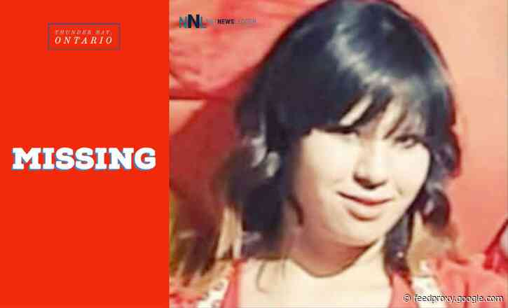 June 19, 2021 – Missing 25-Year-Old Woman in Thunder Bay