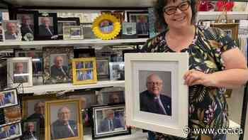 Halifax thrift shop filled with photos of 'local hero' chief medical officer - CBC.ca