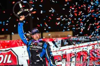 Davenport Wins Clash at The Mag Opener Presented by Big River Steel - stlracing.com