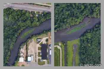Kalamazoo River sediment build-up is big enough now to be seen from space - Midwest Communication