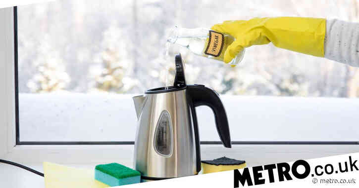 11% of Brits have never cleaned their kettle – here's how to easily descale yours