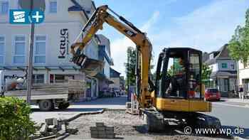 Bad Berleburg: Stadt testet neues Pflaster mit Gummi-Fuge - Westfalenpost