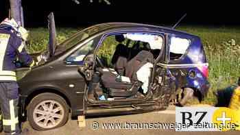 Verkehrsunfall bei Hohenhameln – Fahrer eingeklemmt