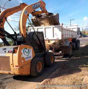 Distrito de Nova Londrina recebe serviços de revitalização - Diário da Amazônia