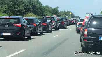 Stockender Verkehr auf der A31 zwischen Lingen und Geeste - NOZ