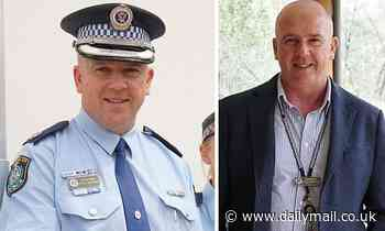 Senior New South Wales policeman Peter McKenna allegedly glassed by ex cop in Dubbo