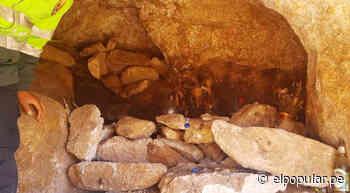 Policía en Tacna encuentra momia dentro de cueva - ElPopular.pe