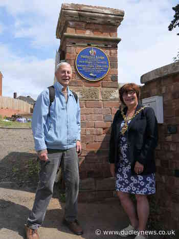 Blue plaque in Cradley remembers famous Hingley ironmasters - Dudley News