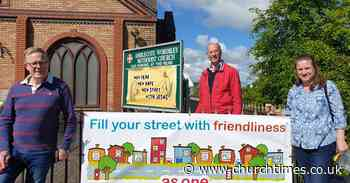 Church banners in Dudley call for 'friendliness' as end of lockdown nears - Church Times