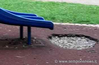 Legnano, buche pericolose al parchetto di Piazza Monte Grappa | Sempione News - Sempione News