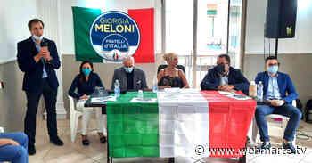 Lentini   Fratelli d'Italia in campo a sostegno di Stefano Battiato - www.webmarte.tv