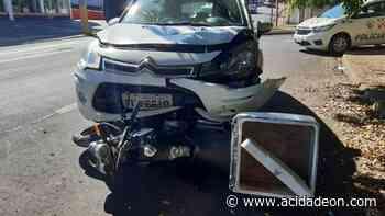 Motociclista é arrastado por carro após colisão no Jardim Alvorada - ACidade ON