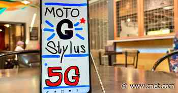 The $400 Moto G Stylus 5G is affordable and has a big battery     - CNET
