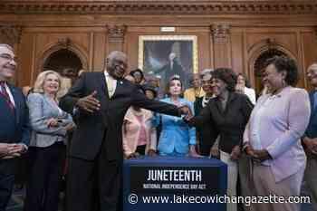 Biden to sign bill making Juneteenth a federal holiday - Lake Cowichan Gazette