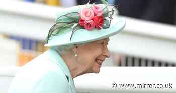 Queen braves the rain and arrives at Royal Ascot after missing opening day