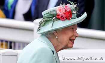 Beaming Queen, 69, arrives at Royal Ascot