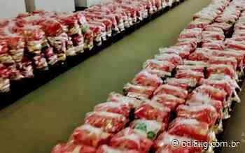 Começa hoje a segunda etapa de distribuição dos kits alimentação   Rio Bonito   O Dia - O Dia