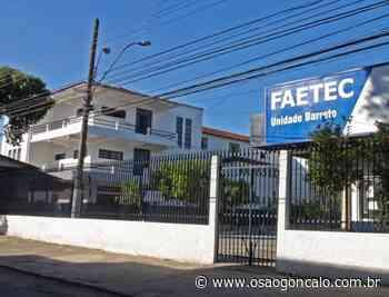 Rio Bonito receberá nova unidade da escola Faetec - O São Gonçalo