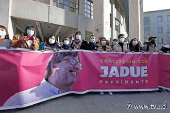 Daniel Jadue lanzó su precandidatura presidencial en Concepción - TVU