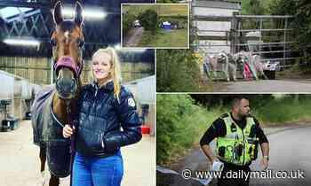 Model killed in Derbyshire village filed a restraining order against stalker, friend claims