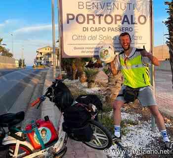 Da Bolzano a Siracusa in Ciao, William da Limbiate ha compiuto l'impresa - Il Notiziario