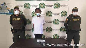 Detienen a un presunto atracador en San Sebastián, Magdalena - El Informador - Santa Marta