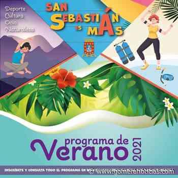 El Ayuntamiento de San Sebastián de La Gomera presenta su Programa de Verano 2021 - Gomeranoticias