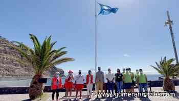 Izadas las dos Banderas Azules de San Sebastián de La Gomera - Gomeranoticias