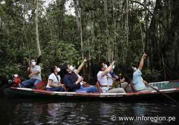 Atractivos turísticos de San Martín son visitados por la prensa de Cajamarca y Amazonas - INFOREGION