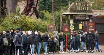 Customers threaten Thorpe Park with boycott over strict Covid mask ride rules
