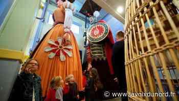 Douai : privée de fêtes, la famille Gayant ouvre ses portes au public - La Voix du Nord