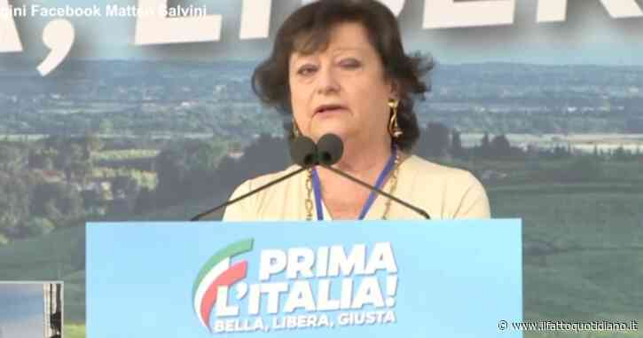 """Manifestazione della Lega, la candidata prosindaco Simonetta Matone: """"Non sono razzista e omofoba, Roma non è mafia capitale"""""""