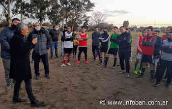 Pipo Gorosito visitó el Club Escocia de Tigre junto a Lázaro Flores - InfoBan