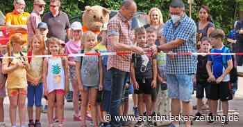 Westernstadt-Spielplatz an der Mühlbach Schiffweiler offiziell eröffnet - Saarbrücker Zeitung