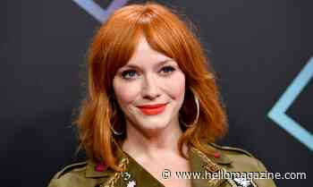 Christina Hendricks sends fans wild with double dose of wondrous news