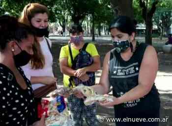 Trueque en pandemia: Barbijos por cosas en Plaza Pineral de Caseros - Noticias, Todas Las Tardes (Clips) - telenueve