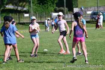 Les Olympiades d'Ussel ont fait le plein d'écoliers pour la première édition de cette manifestation multisports - La Montagne