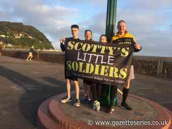 Thornbury widow dedicates wedding to Scotty's Little Soldiers | Gazette Series - South Cotswolds Gazette