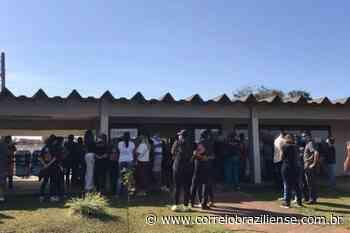 Velório de Melissa Mazzarello reúne cerca de 50 pessoas em Sobradinho - Correio Braziliense