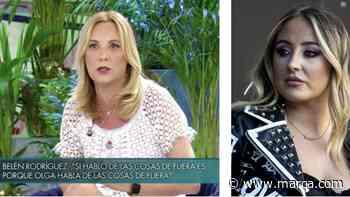 """Belén Rodríguez y su brutal respuesta a Rocío Flores: """"No tiene c**o"""" - MARCA.com"""