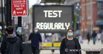 UK coronavirus cases rise by 10,321 in highest Saturday increase since February