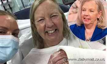 Dragons' Den's Deborah Meaden,62, reveals she has fractured her wrist after a horse injury