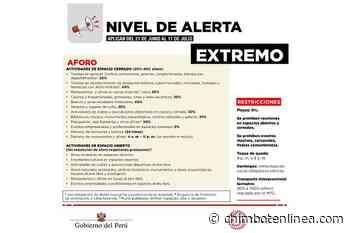 """Provincias de Huaraz, del Santa, Casma y otras de Áncash clasificadas en riesgo """"muy alto"""" - Diario Digital Chimbote en Línea"""
