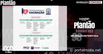 Secretaria de saúde de Guarabira segue com cronograma de vacinação contra a COVID-19 - PortalMidia