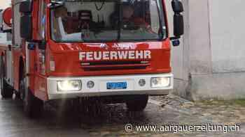Rheinfelden: Bewohner verletzt sich schwer bei Brand - Aargauer Zeitung