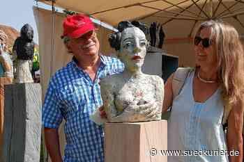 Rheinfelden-Beuggen: Besucher strömen zum Töpfer- und Künstlermarkt in den Schlosspark in Beuggen - SÜDKURIER Online