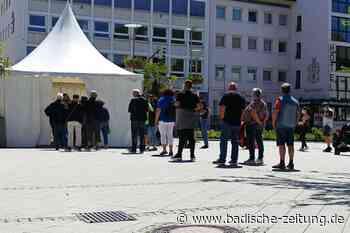 Rheinfelden lässt zwei Testzentren schließen – Betreiber widerspricht Stadtverwaltung - Rheinfelden - Badische Zeitung