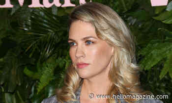 January Jones shares rare picture of son during family reunion
