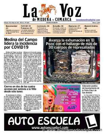 La portada de La Voz de Medina y Comarca (19-06-2021) - La Voz de Medina Digital